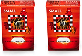 Arcane Tinmen Small Non-Glare Board Game Card Sleeves – 44mm x 68mm – Bundle of 2 – 100 Sleeves Total