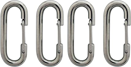 product image for Ezpole Flagpoles Stainless Steel Clips - Pack of Four (4)