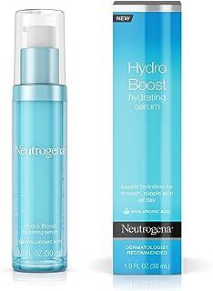 Neutrogena Hydro Boost Hydrating Hyaluronic Acid Serum, Oil-Free and Non-Comedogenic..