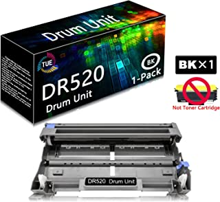 DR520 DR-520 Black 1 Pack Compatible Drum Unit Replacement for Brother HL-5280DW HL-5350DN HL-5370DWT HL-5380DN MFC-8470DN MFC-8880DN DCP-8080DN DCP-8085DN Printer, Sold by TueInk