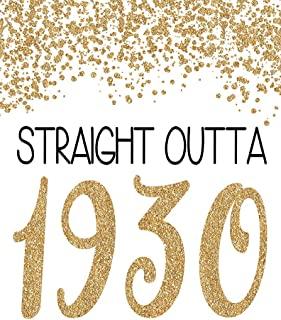 PGbureau 11x14 in 89th Gold Birthday Party Decoration – Cheers to 89 Years Poster – Happy 89th Sign – for Men and Women - Anniversary