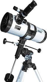 Seben 114/1000 EQ-3 Star Sheriff - telescopio Reflector para astronomía, Incluye una Montura paraláctica y Accesorios Big ...