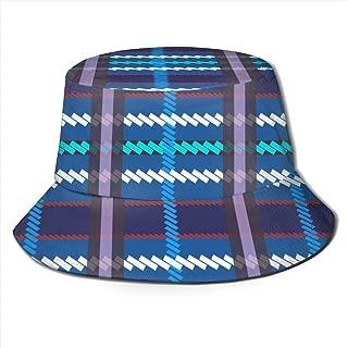 Fashion Print Peni Parker Cosplay Plaid Bucket Hat Summer Fisherman Cap for Women Men