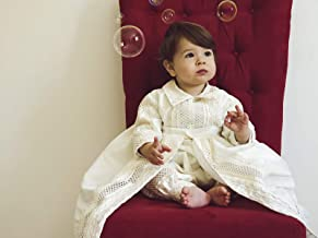 Baby Boy Christening Gown, Spanish Style outfit (ropones para bautizo). Baptism Outfit B005
