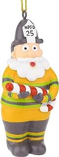 Tree Buddees NPFD Santa - North Pole Fire Department Firefighter Christmas Ornaments