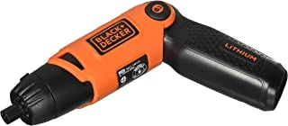 BLACK+DECKER Li2000 3.6-Volt 3 Position Rechargeable Screwdriver, Orange/Black