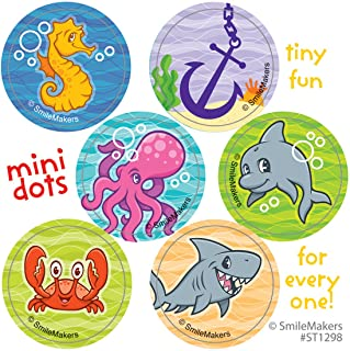 SmileMakers Sea Life Pals Mini Dot Stickers - Prizes 100 per Pack