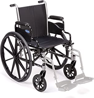 Invacare TRSX52FBP Tracer SX5 Wheelchair, Flip-Back Desk-Length Arms, 22