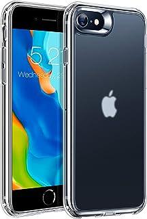 TORRAS 半クリア iPhone se2 用 ケース iphone8 用 iphone7 用 ケース 2021開発 耐衝撃 米軍MIL規格 マット感 指紋防止 黄ばみなし 薄型 アイフォン SE 第2世代 7 8 用カバー マット・クリア