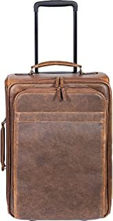 Scully Squadron Wheeled Carry-On Antique Brown One Size