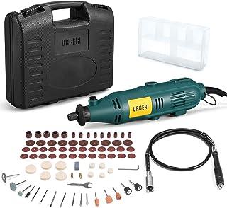 URCERI Rotary Tools Kit Flex Shaft 100 Accessories 6 Adjustable Speed 120V/60HZ..