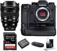 Fujifilm X-H1 Mirrorless Digital Camera with VPB-XH1 Vertical Power Booster Grip Kit + XF 8-16mm f/2.8 R LM WR Lens (16591570)
