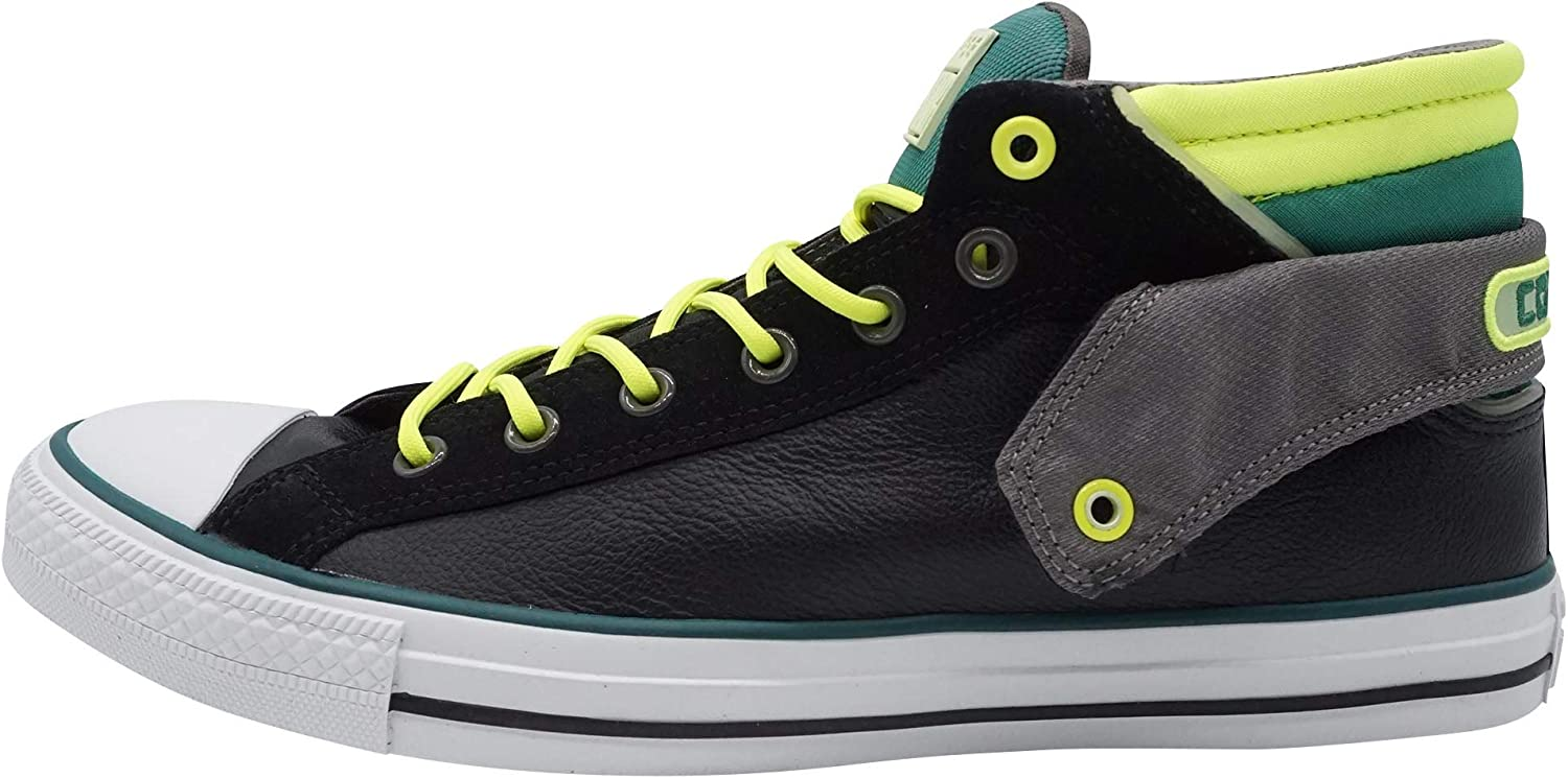 Converse CT PC Layer MID BLK Green Unisex Sneakers Black