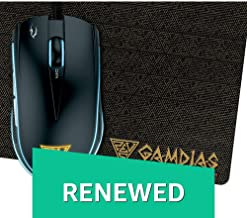 (Renewed) Gamdias Zeus E1 Optical Gaming Mouse With 6 Smart Buttons, Double Level Multi-Color Lighting And Gaming Mouse Mat