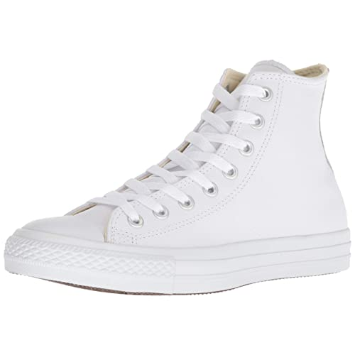 dc16f8cc7977 Converse Unisex-Adult Chuck Taylor All Star Core Leather Hi-Top Trainers