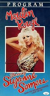 Suzanne Somers Signed Autographed 8.5 X16 Program Moulin Rouge JSA HH37386