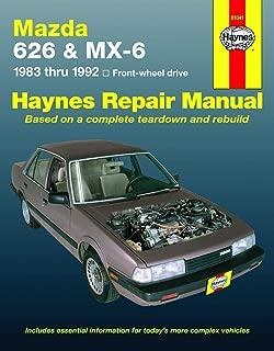 Mazda 626 & Mx-6 Automotive Repair Manual: Front-Wheel Drive 1983- 1992 (Haynes Automotive Repair Manual Series)