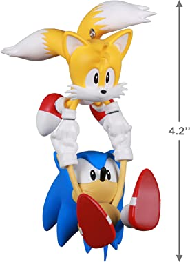 Hallmark Keepsake Christmas Ornament 2021, Sonic The Hedgehog Sonic & Tails
