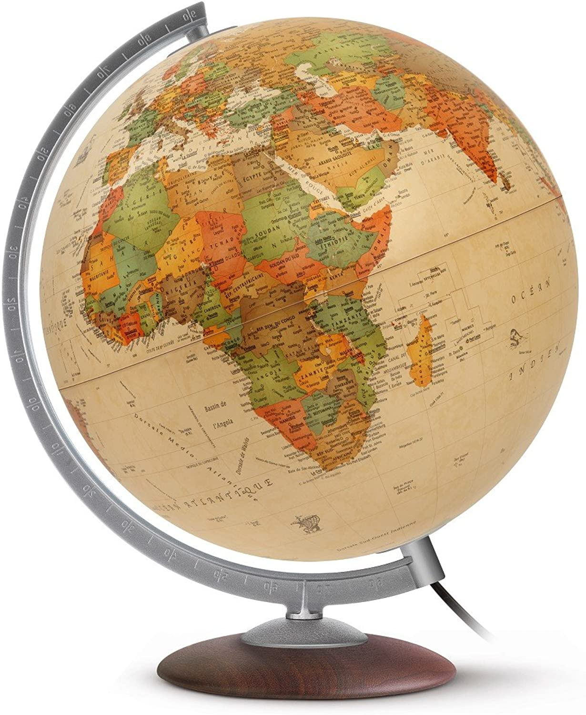 Jpc Créations World Globe 30 cm Medium Antique