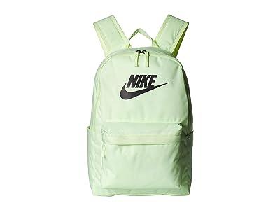 Nike Heritage Backpack 2.0 (Barely Volt/Barely Volt/Black) Backpack Bags