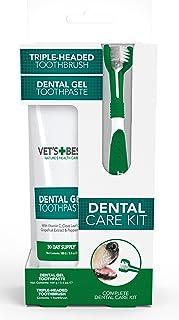 Vet's + Best Complete Enzymatic Dental Care Kit, White