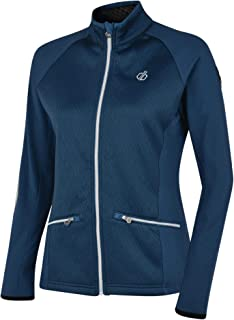 Dare 2b Women's Solaria Core Stretch Warm Backed Knitted Full Top with Zipped Lower Pockets Softshell Jacket