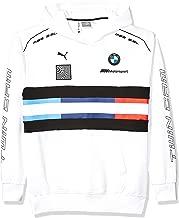 Motorsport Men's BMW Pullover Hoodie, X-Large, White