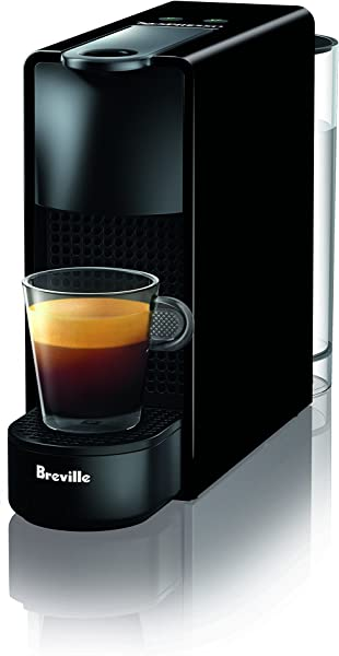 Breville Nespresso USA BEC220BLK1AUC1 Nespresso Essenza Mini Espresso Machine Piano Black