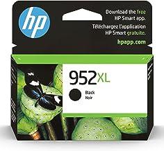 Original HP 952XL Black High-yield Ink Cartridge | Works with HP OfficeJet 8702, HP OfficeJet Pro 7720, 7740, 8210, 8710, ...
