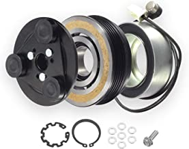 Mazda 3 2004-2009 AC Compressor Clutch Kit Coil Pulley Bearing Clutch Plate + Heat Sensor Harness