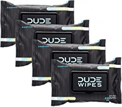 Dude Wipes - Flushable Wipes, Fragrance Free & Naturally Soothing, Dispenser Pack (48ct) (4)
