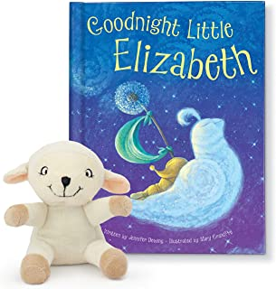 Bedtime Book for Babies, Baby Shower Gift, Personalized Children's Book, Plush Lamb