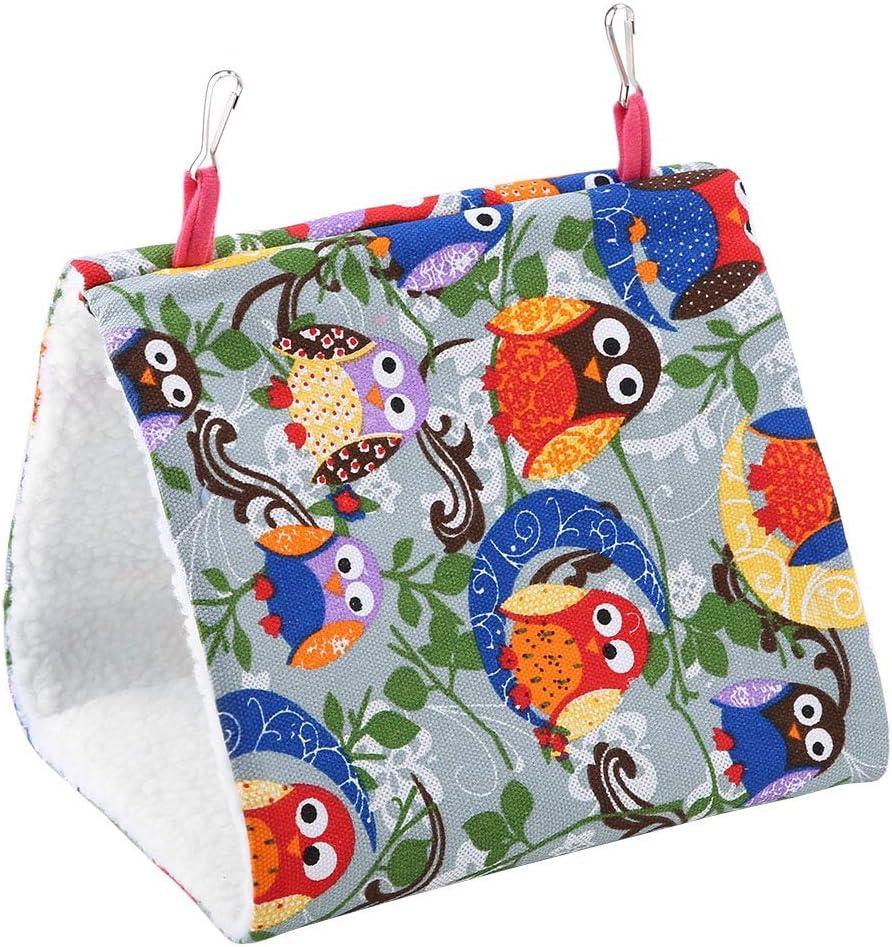 Pet Bird Nest Hammock Warm Soft Ranking TOP20 Complete Free Shipping Hanging Cave House Du Triangular
