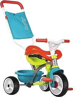 comprar comparacion Triciclo Be move Confort azul con volquete y ruedas silenciosas (Smoby 740401)