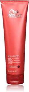 Wella Brilliance conditioner for Fine Hair, 8.4 oz by Wella