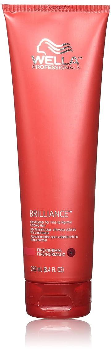 通行人経度マーチャンダイジングWella Brilliance conditioner for Fine Hair, 8.4 oz by Wella