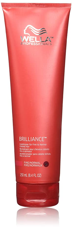 情緒的比喩フィラデルフィアWella Brilliance conditioner for Fine Hair, 8.4 oz by Wella