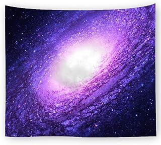 Tapiz de pared con diseño de estrellas de astronomía para dormitorios de salón o dormitorio, 2, 150 x 100 cm