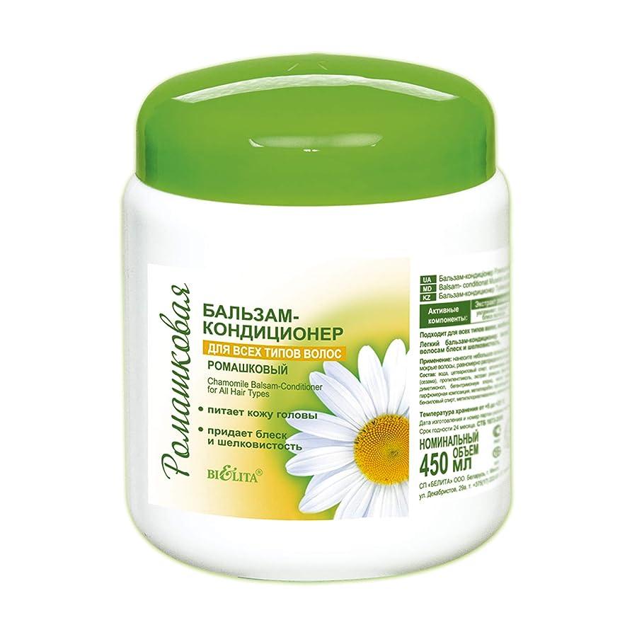 サービスシンボル不名誉なBielita & Vitex | Chamomile Line Restorating Conditioning Balm for All Types of Hair | All Natural: Allantoin and Chamomile Extracts | 450 ml |