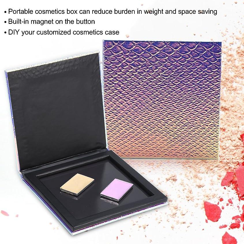 備品理論振り子化粧ケース アイシャドウケース 化粧パレット アイシャドウパレット 収納ケースだけ 磁気ボックス ブラッシュパウダー