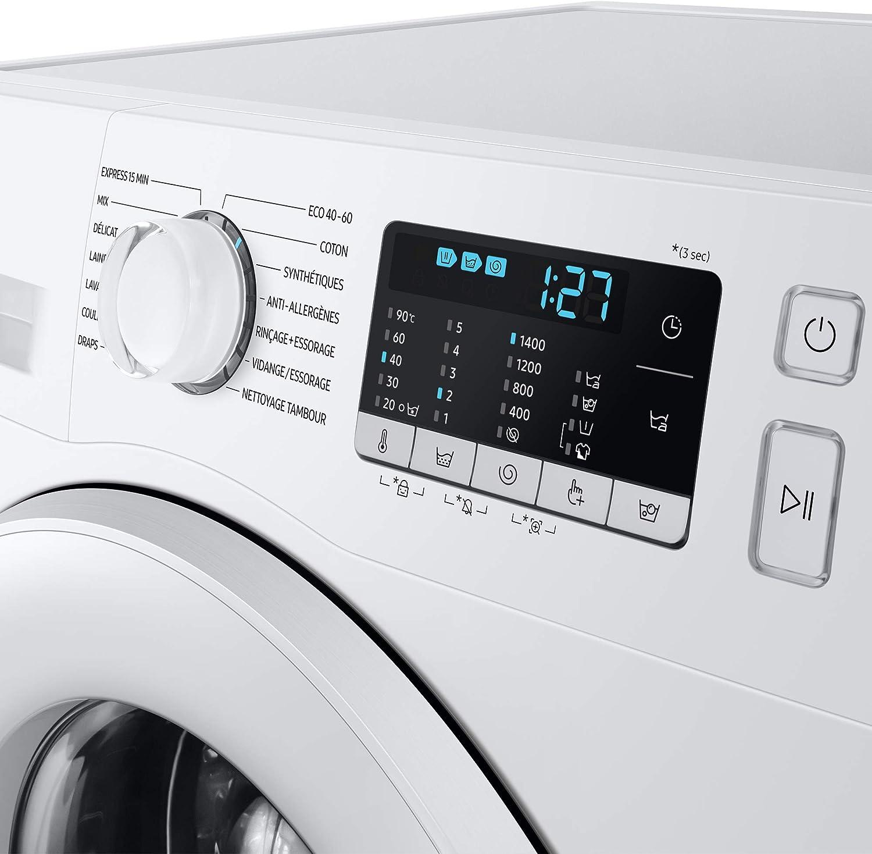 Samsung WW70TA046AX/EU Freestanding Washing Machine with ecobubble ...