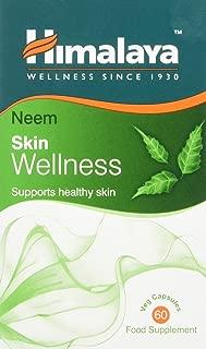 Himalaya Wellness Neem Blood Detox Supplement para la piel sana y saludable - 60 Cápsulas vegetarianas