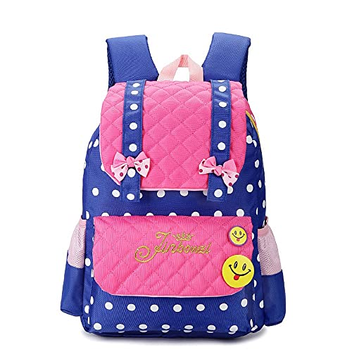 cefb7376a8 EssVita Kid Child Princess Style School Bags Backpack for Primary Girls  Students (Style B Pink