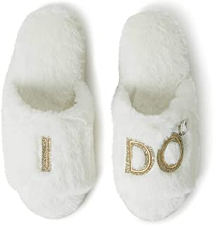 Women's Bridal I Do & I Do Crew Giftable Slide Slipper