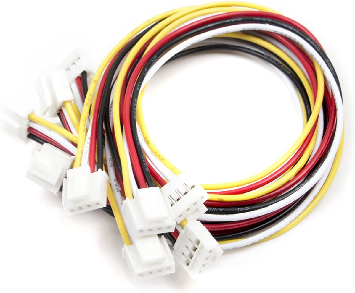 seeed studio Grove - Easy-to-use Universal 4 Max 57% OFF Pin Cable P 20cm 5 PCs Buckled