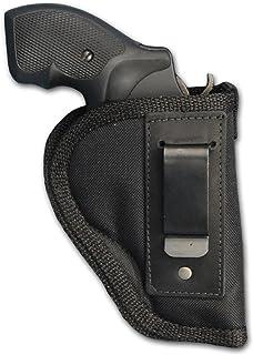 """Barsony New Inside The Waistband Gun Holster for 2"""", Snub-Nose .38 .357 Revolvers"""