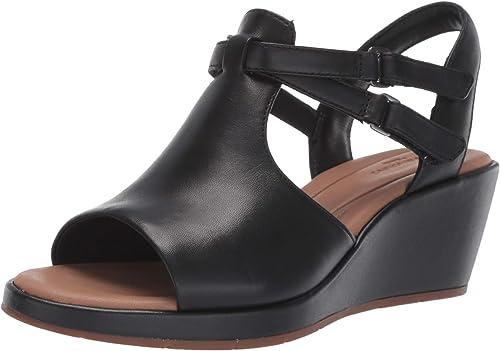 CLARKS CLARKS femmes& 39;s Un Plaza Way Wedge Sandal  design unique