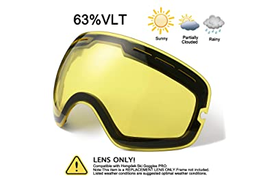c3b9c467f76 Best Rated in Snow Sports Goggles   Lenses   Helpful Customer ...