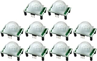 WMYCONGCONG 10 PCS HC-SR501 Pyroelectric Infrared PIR Motion Sensor Module Detector