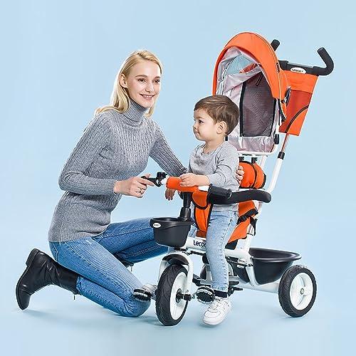 connotación de lujo discreta Niños triciclo, bicicleta bicicleta bicicleta Empuje de mano bebé Cochecito de bebé Bicicleta infantiles Bote inflable  increíbles descuentos